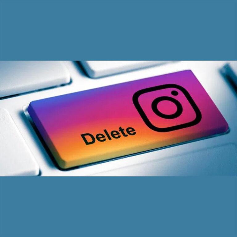 Como excluir a conta do Instagram em 4 passos?