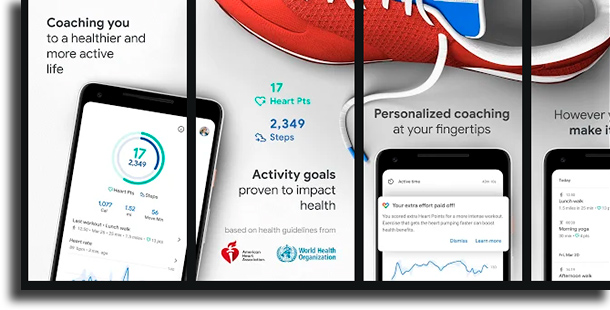 Google Fit best workout apps