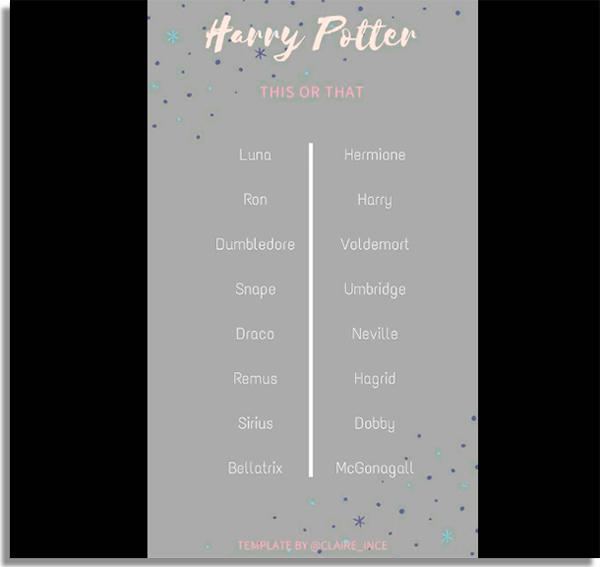 Harry Potter challenge best WhatsApp games