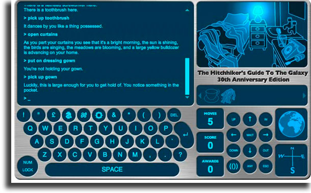 The Hitchhiker's Guide to the Galaxy best browser games