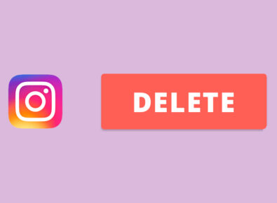cover permanently delete Instagram account
