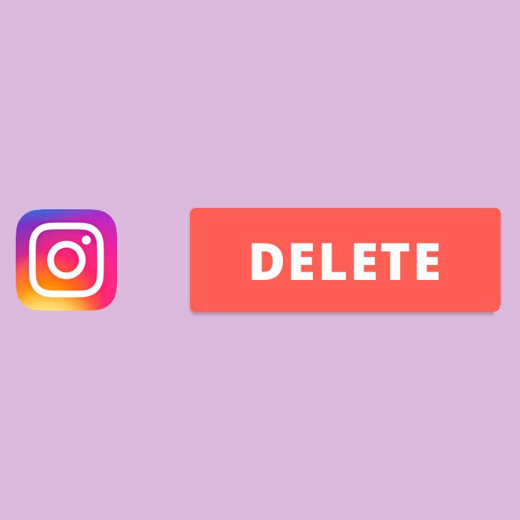Como excluir conta do Instagram definitivamente?