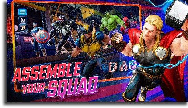 Marvel Strike Force best Android games
