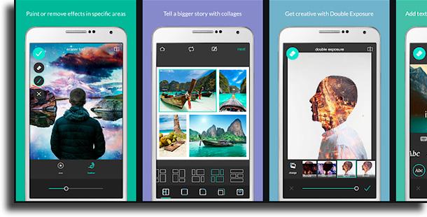 Pixlr aplicativos de fotos