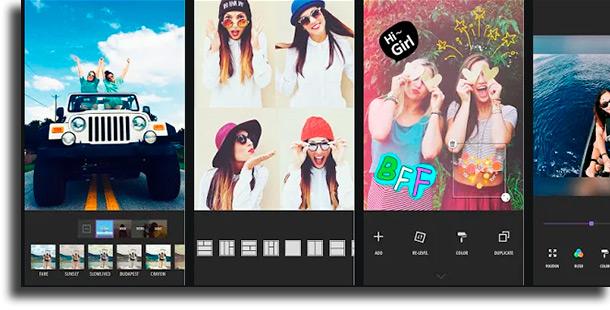Piczoo aplicativos de fotos mais usados