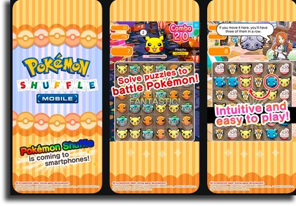 Pokémon Shuffle best iPhone games