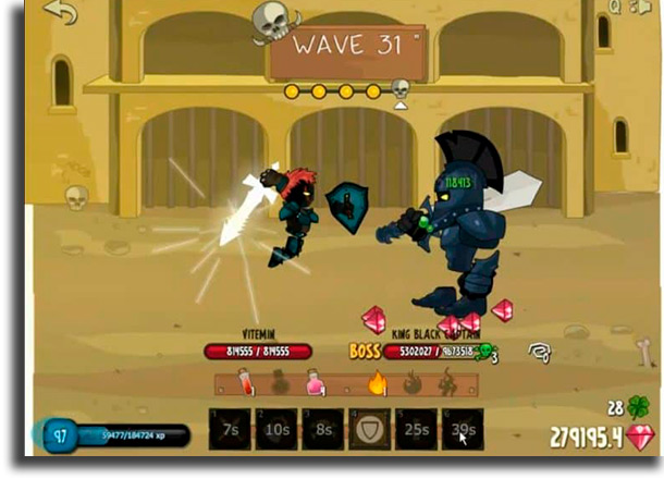 Swords and Souls best browser games