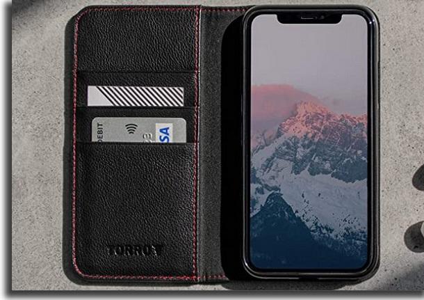 capa de carteira para iphone 11