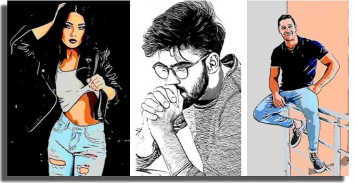 convertir fotos en dibujos Cartoon Photo