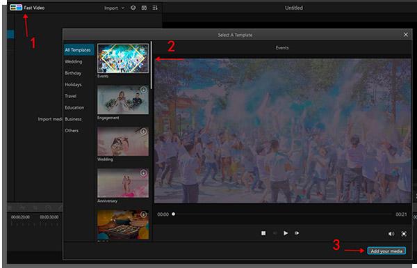 o imyfone filme é um editor de vídeo para windows