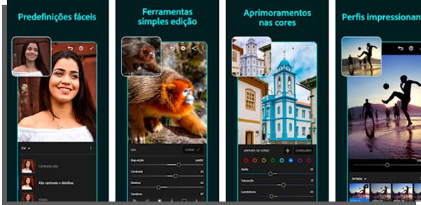 lightroom é perfeito para edições em fotos para whatsapp