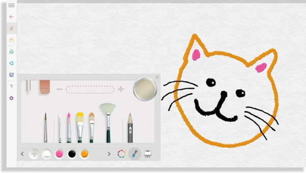 Microsoft Fresh Paint best drawing software for PC