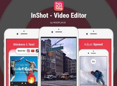 inshot editor de vídeo no android capa