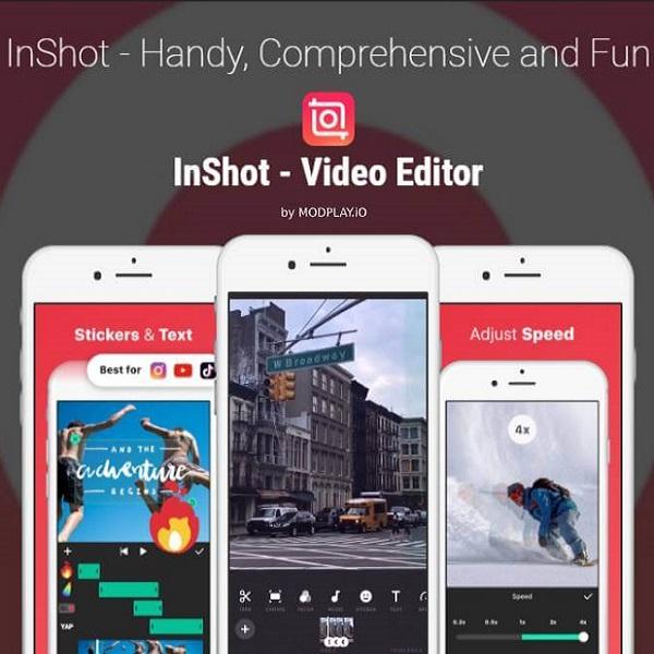 Inshot: editor de vídeo no Android e iPhone
