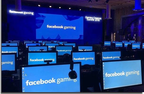 usar o facebook gaming