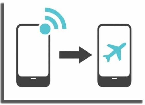 modo de avión problemas de WiFi en tu Android