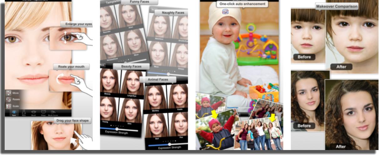 corregir imperfecciones de las fotos photo makeover