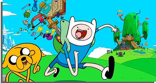 hora da aventura é um dos seriados de animação mais aclamados