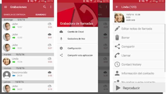 Automatic Call Recorder grabar llamadas Android