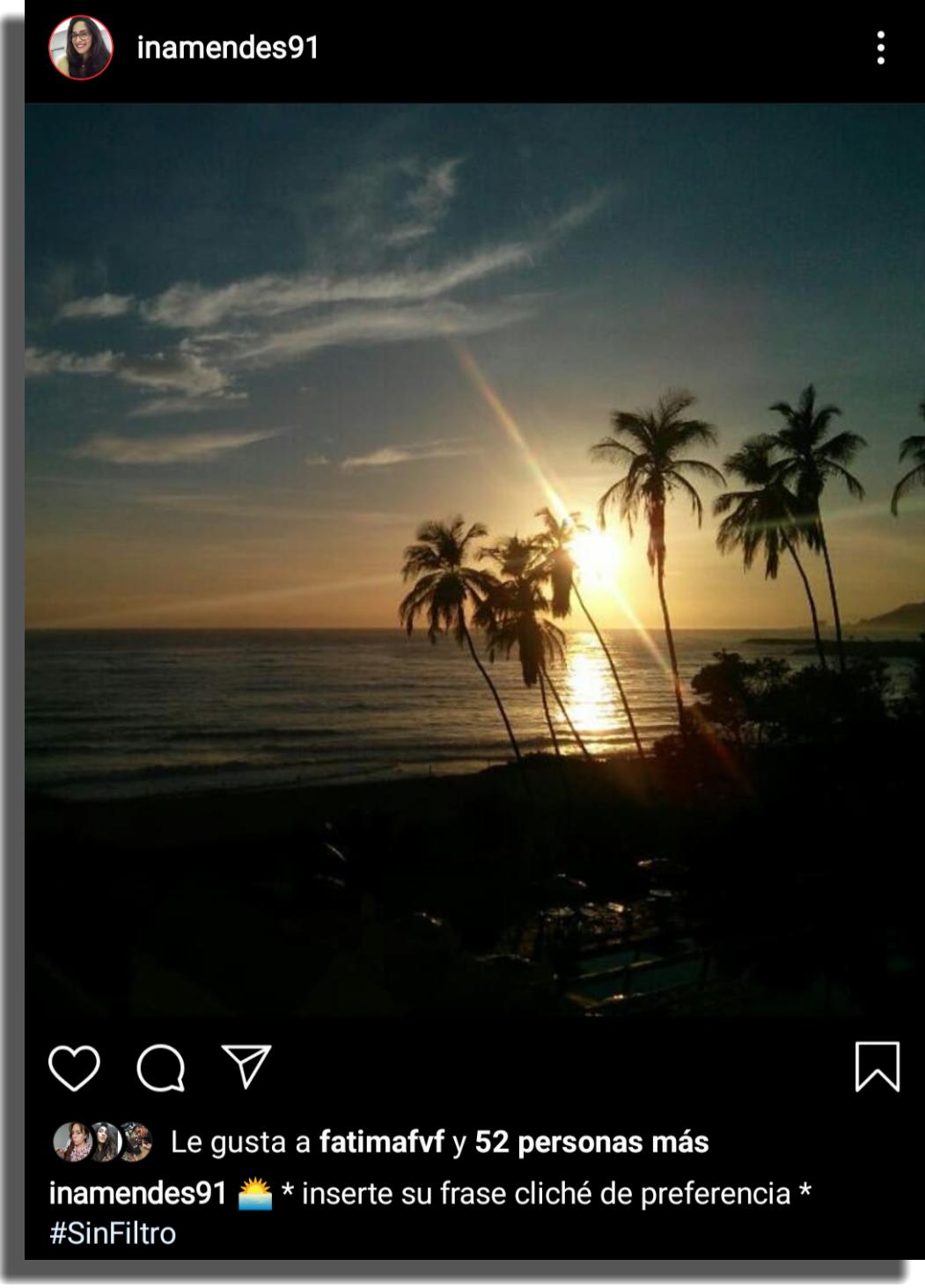 ideas de contenido para Instagram Paisajes