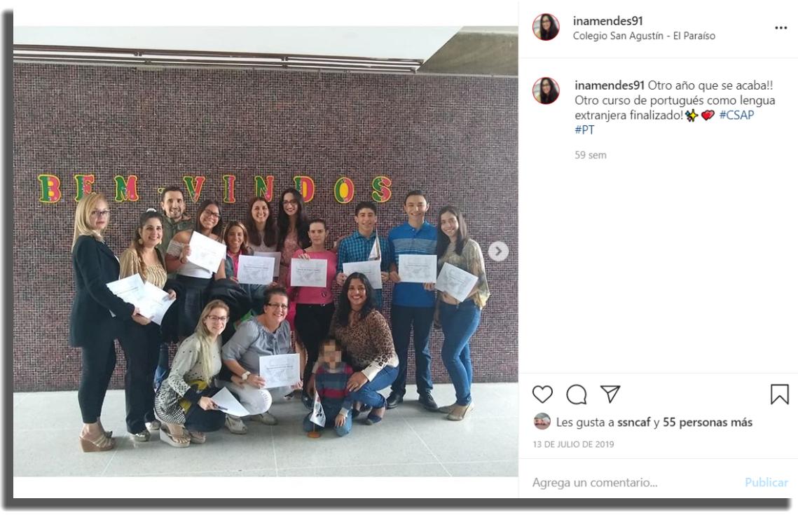Ideas de contenido para Instagram Foto con clientes
