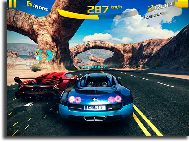 Asphalt 8: Airborne best offline Android games