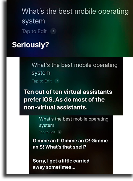 What is the best mobile operating system?
