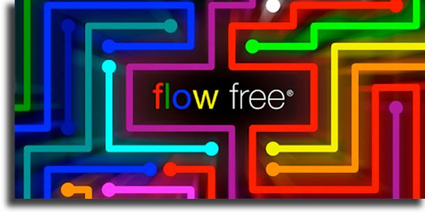 juegos offline para Android Flow Free