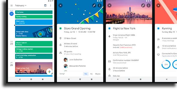 Google Calendar best calendar apps