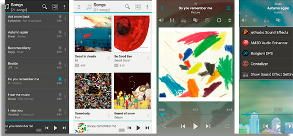 JetAudio listen to music offline for free