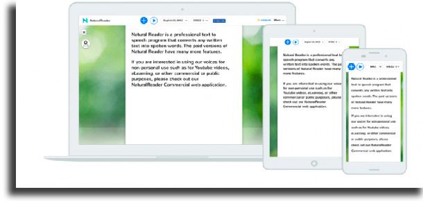 Natural Reader best text-to-speech apps