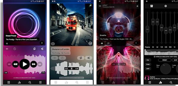 Poweramp listen to music offline for free