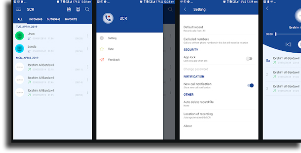 Smart Call Recorder – SCR call recording apps for Android
