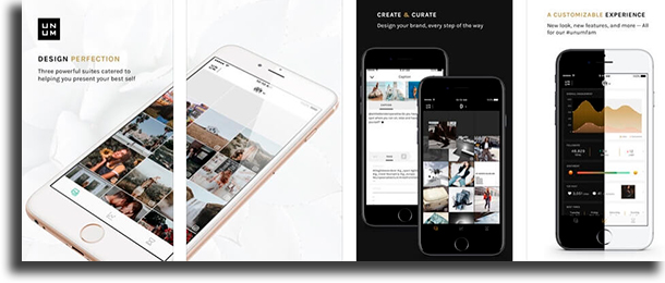 UNUM - Perfect Design for Instagram organize Instagram feed