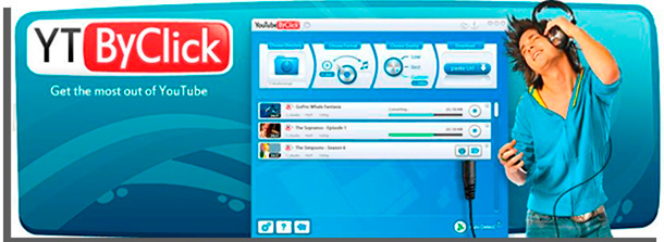 convertir videos a MP3 YouTube by Click