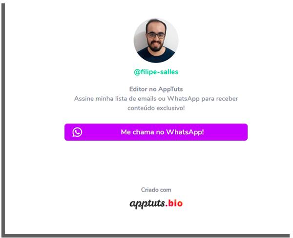 mini pagina do apptuts.bio