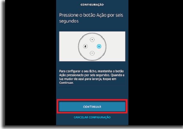 conectar a outra rede Wi-Fi botão
