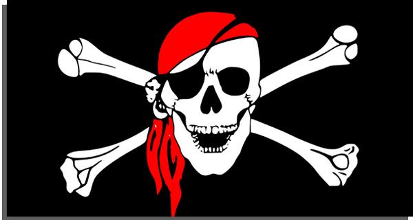 pirataria pode não funcionar como você espera!