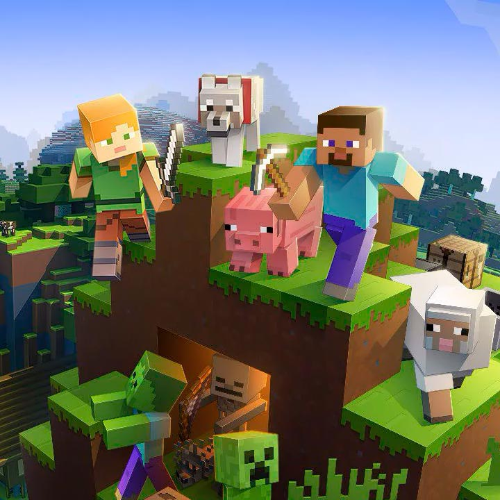 cover play Minecraft for free