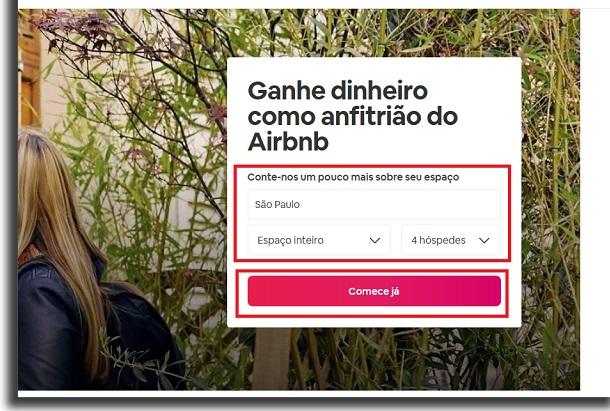 como usar o airbnb