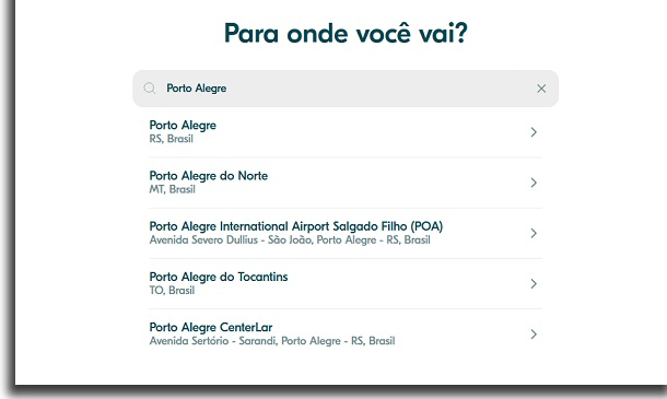 destino final no blablacar