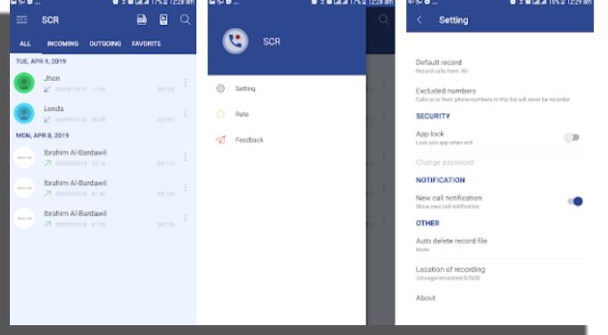 Smart Call Recorder - SCR grabar llamadas Android