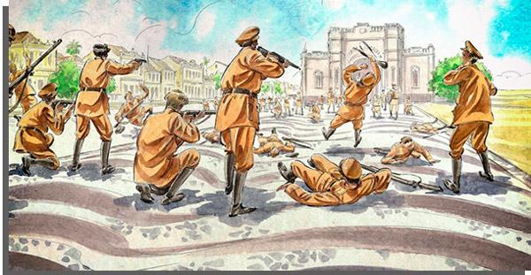 ilustração da série guerras do brasil.doc