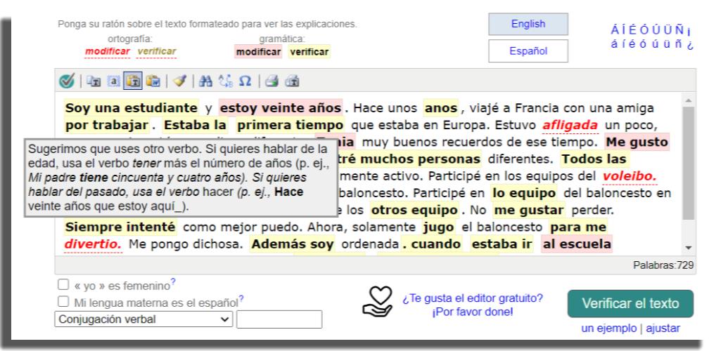 apps para corregir textos spanishchecker