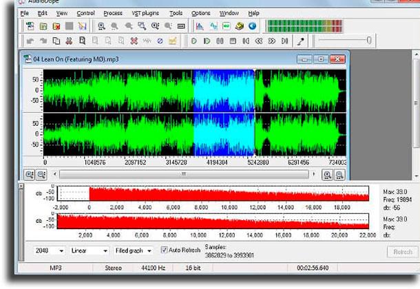 AudioDope best audio recording software