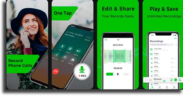 Record Phone Calls-Call Rec iPhone call recording apps