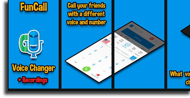 Funcalls - Voice Changer & Call Recording best voice changer