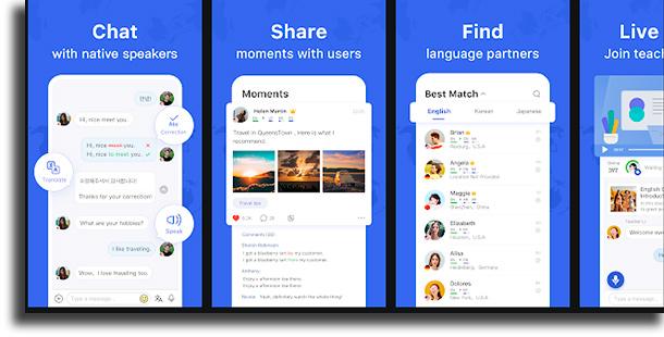 HelloTalk best language exchange apps