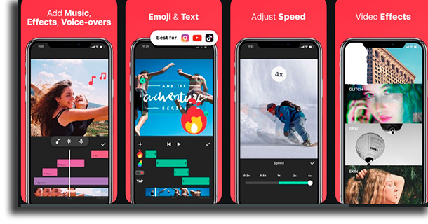 InShot video editing apps for iPhone
