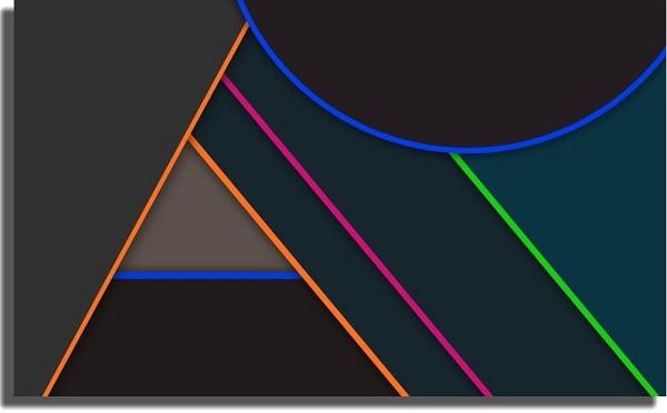 fondo de pantalla líneas abstractas